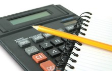 Калькулятор, блокнот, карандаш