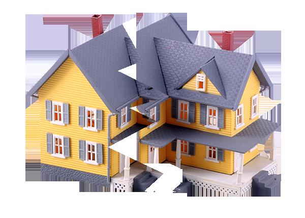 общедолевая собственность на дом раздел долей без