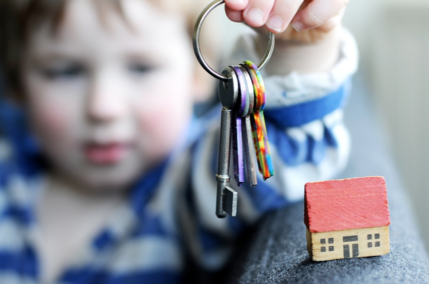 Ребенок с ключами